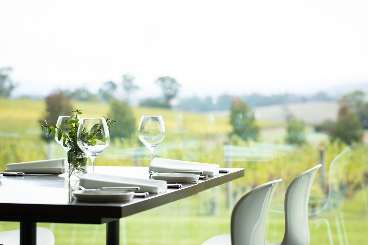 Experience Yarra Valley Cuisine in our one hat restaurant